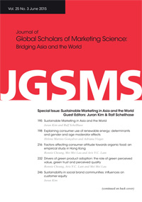 Journal of Global Scholars of Marketing Science
